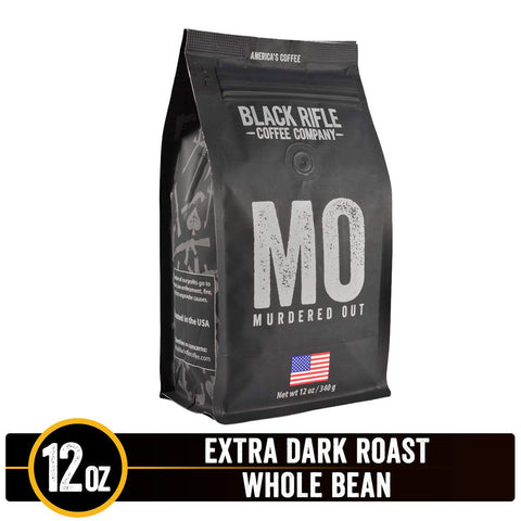 Black Rifle Coffee Co. - MURDERED OUT - Extra Dark Roast - 12oz bag