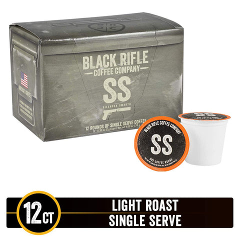 Black Rifle Coffee Co. - SILENCER SMOOTH Rounds - 12ct