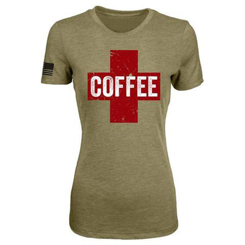Black Rifle Coffee Co. - WOMEN'S COFFEE SAVES TEE