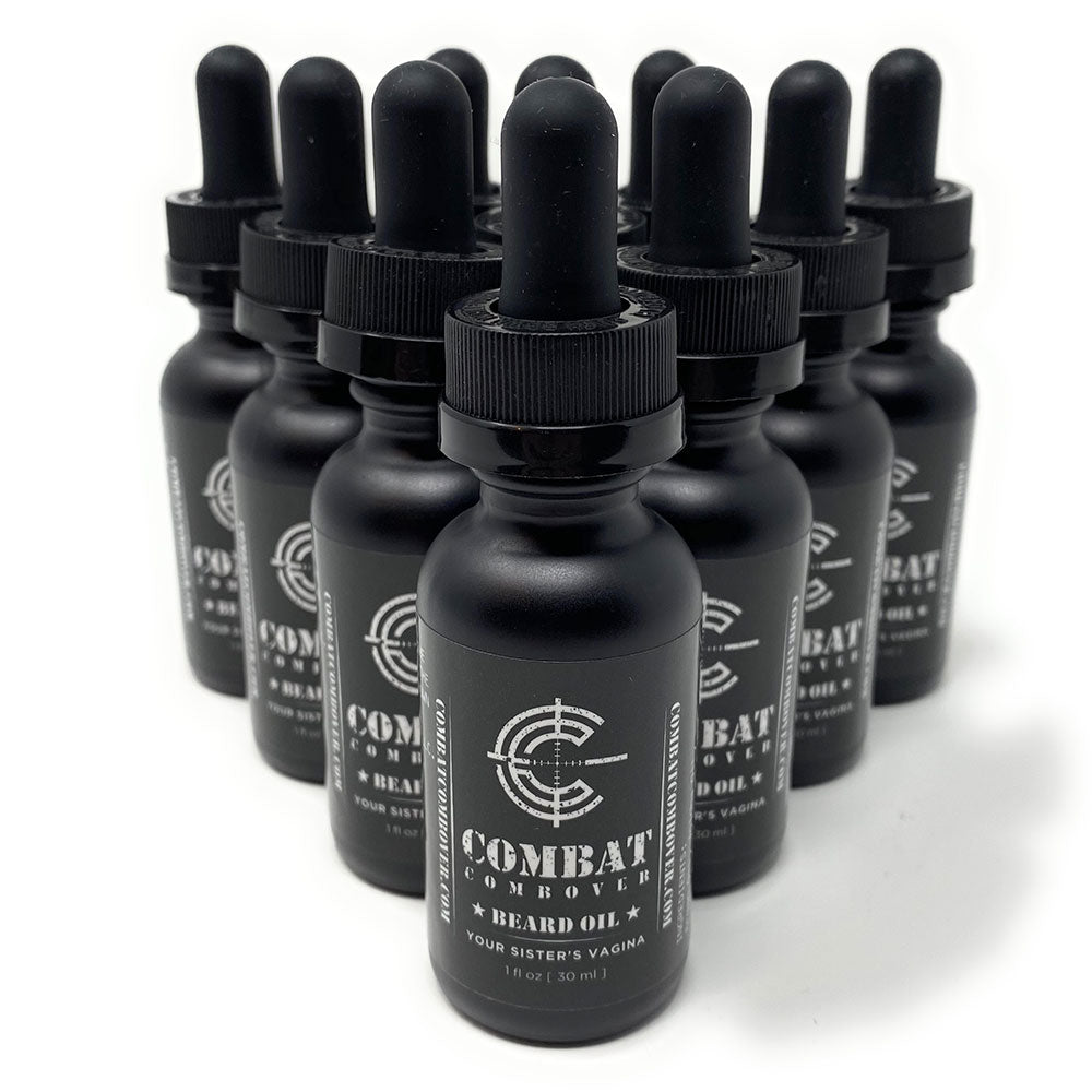 Combat Combover - Beard Oil - Your Sister's Vagina