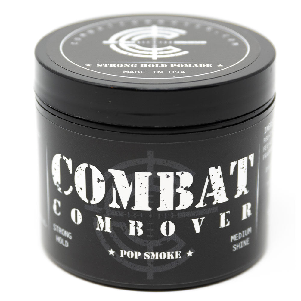 Combat Combover - Strong Hold Pomade - Pop Smoke