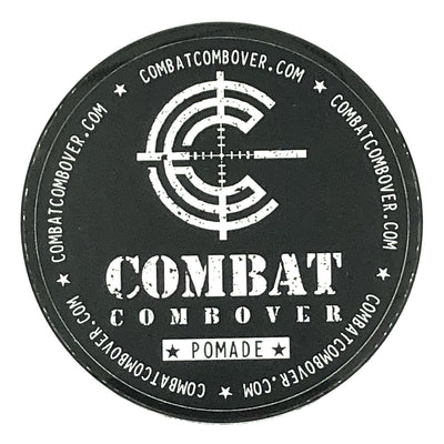 Combat Combover - Strong Hold Pomade - Cocaine & Hookers