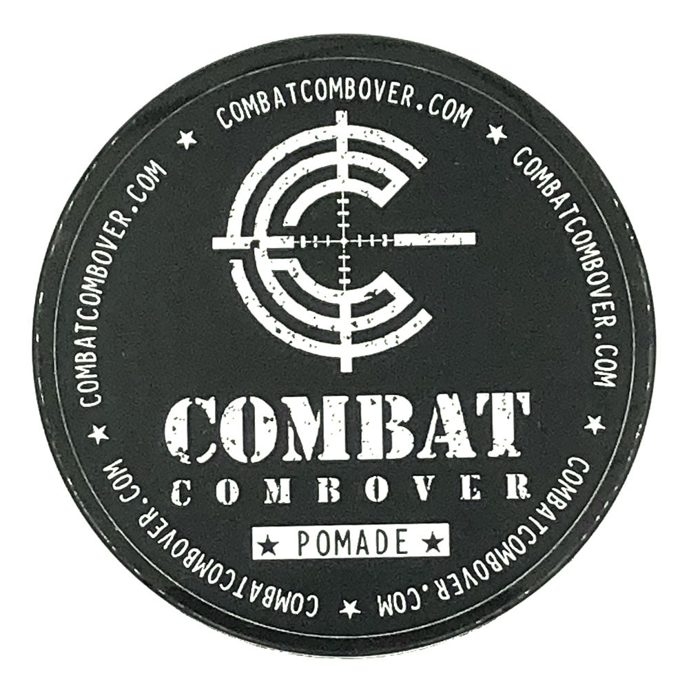 Combat Combover - Strong Hold Pomade - Disgruntled NCO