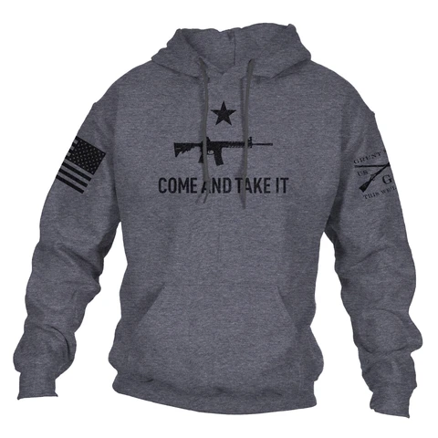 Grunt Style - Come and Take It 2A Edition Hoodie - Drop Ship