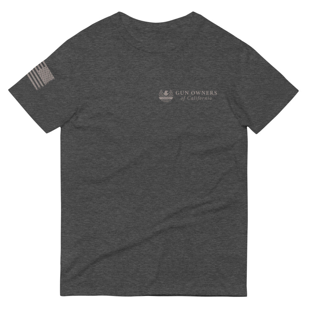 "Exclusive TAC & Gun Owners of California - ""UNITED"" Tee"