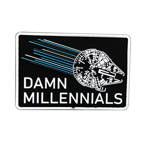 Damn Millennials Patch