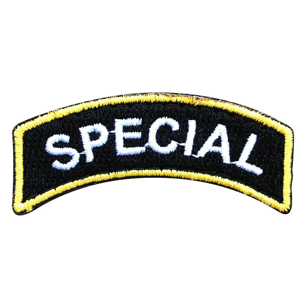 Special - Black and Gold Rocker Patch