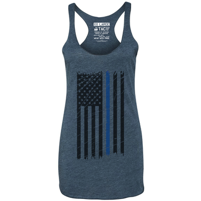 Ladies Thin Blue Line Tank