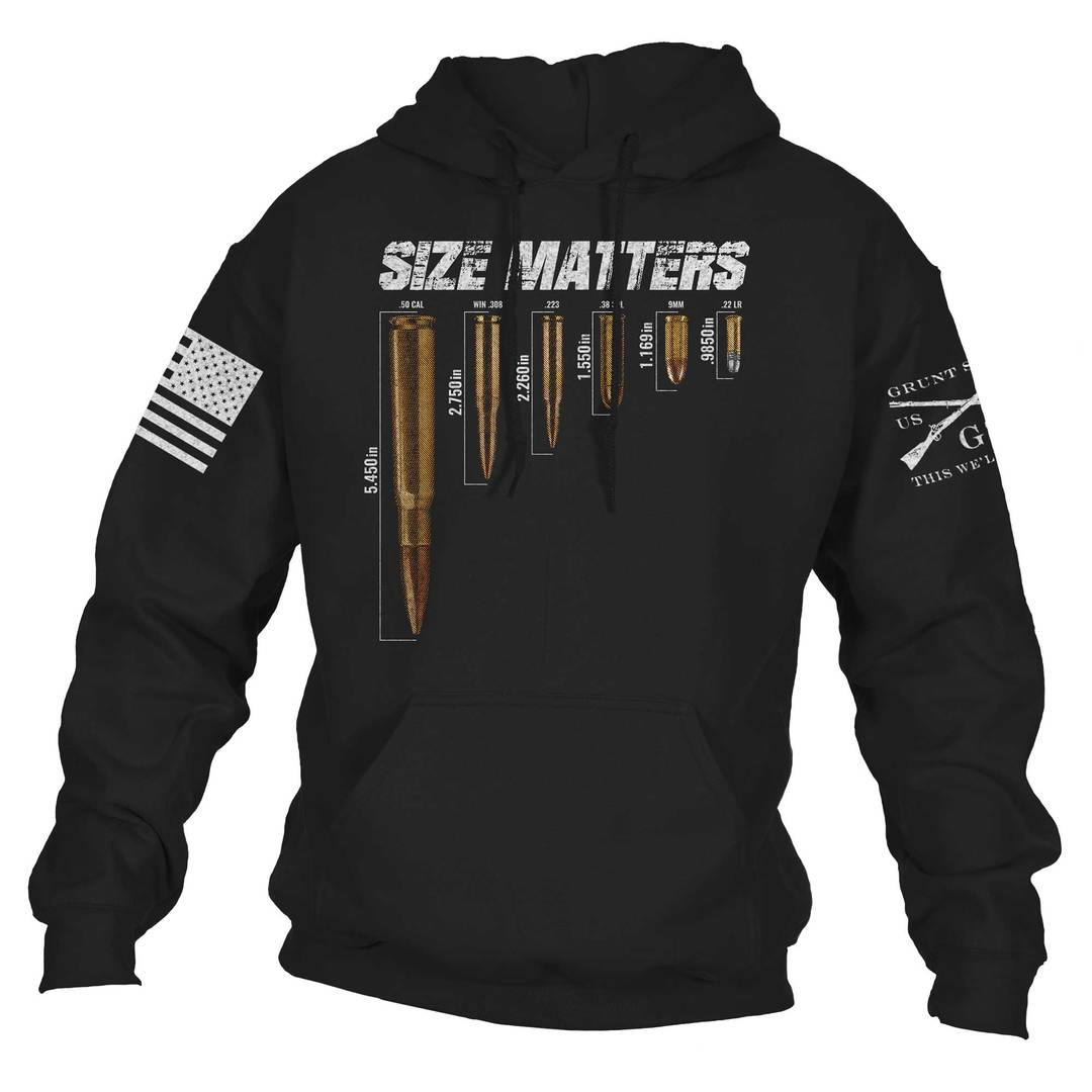 Grunt Style - Size Matters Hoodie - Drop Ship