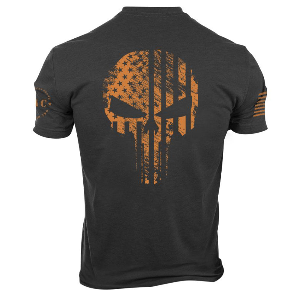 TAC Gold Skull Flag T-shirt