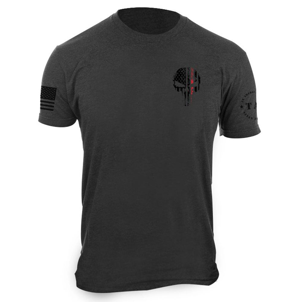 Red Line TAC Skull T-shirt
