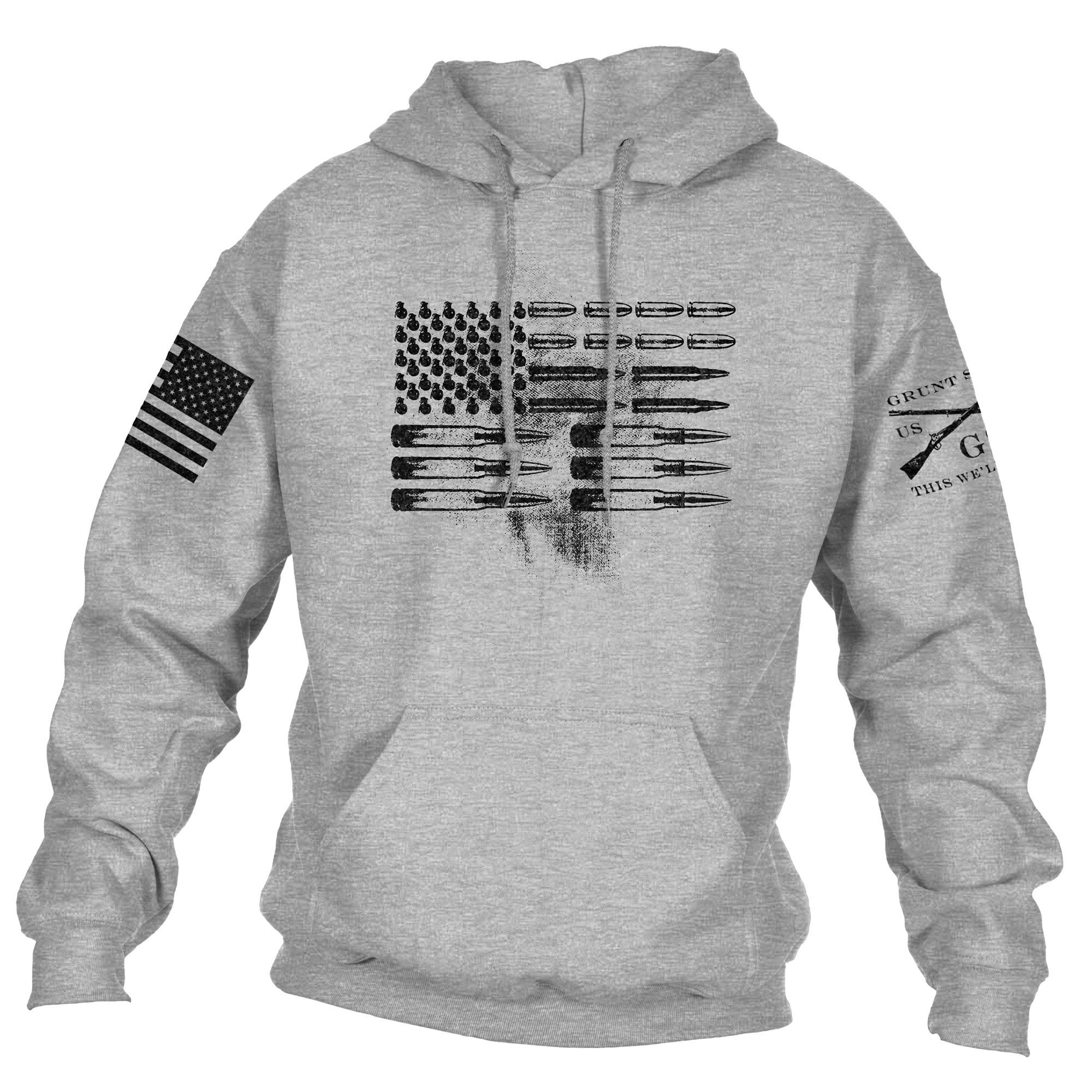 Grunt Style - Ammo Flag Hoodie - Drop Ship