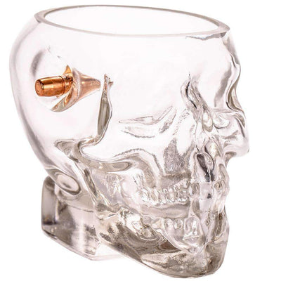 Lucky Shot .308 Headshot Whiskey Glass