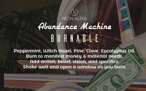 Abundance Machine Burnable