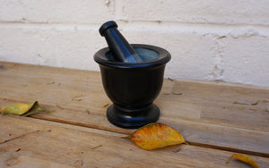 Mortar & Pestle Black