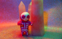 Skeleton Focus Doll