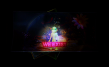 We Exist Sticker