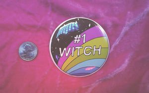 #1 Witch Pin