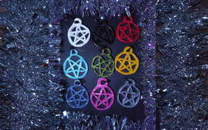 Yule Pentagram Ornaments