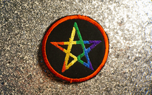 Pride Pentagram Patch