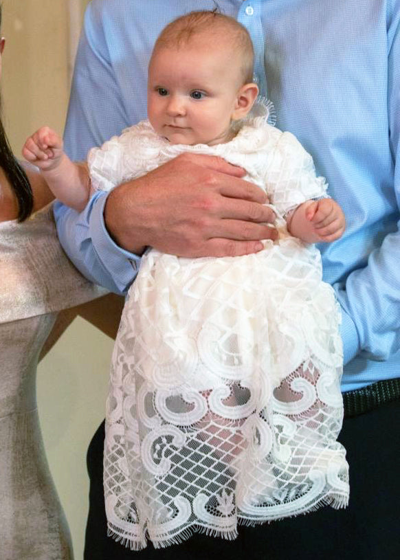 Jolie Christening gown