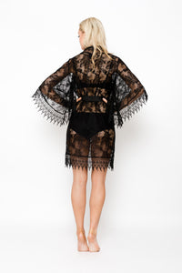 Dreamcatcher Short Robe | Blanc