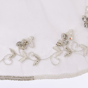 Baroque veil with beading style #2