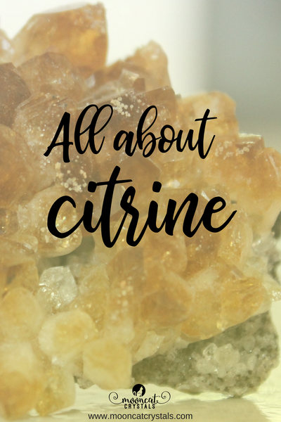 Learn all about the gemstone citrine - a quartz crystal that get its yellow color naturally, but can also be man-altered!