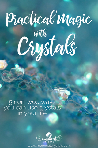 "We've all seen people talk about the metaphysical and healing properties of crystals – but is it real? Do crystals really have mysterious, healing properties that can help us to balance our system and promote wellness (as part of a larger health plan)? Or are they just a bunch of ""woo-woo""?  Here are 5 ways you can use crystals in your life - no woo-woo required!"