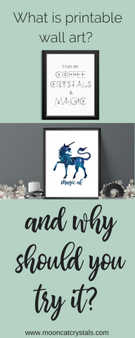 Printable wall art is a great way to redecorate your space on a small budget. Here are 11 reasons we love printable wall art!