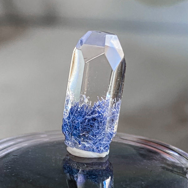 High Quality Dumortierite Polished Point | Stock D