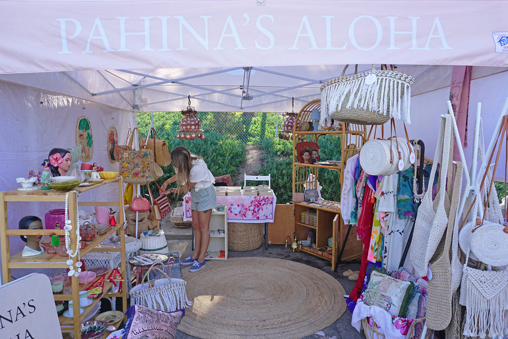Say Aloha to Our Pop-Up Boutique at Our First-Ever Market