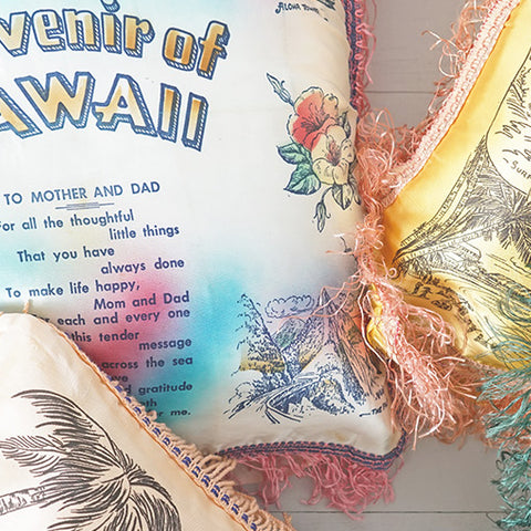 Collectible Hawaiian Pillows