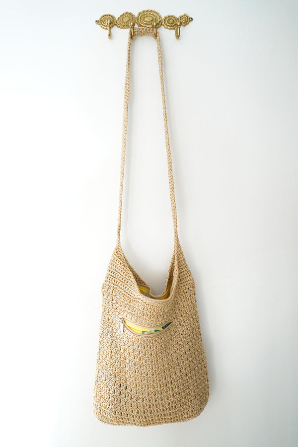 The Aloha Sack - Natural With Sunny Aloha Print