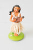 Fun Hula Girl Dashboard Bobble Dancer With Grass Skirt