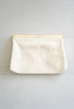 Vintage 1950s - 1960s Beaded Mother of Pearl Evening Clutch Bag
