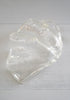 Cool Vintage Clear Lucite Chunky Clam Shell Bowl