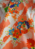 Vintage Handmade Traditional Japanese Colorful Child's Kimono Vest
