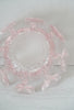 Funky Vintage 1960s Pink Viking Glass Flower Bowl Vase