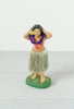 Vintage 1950s Hula Girl Bobble Dancer With Purple Lei