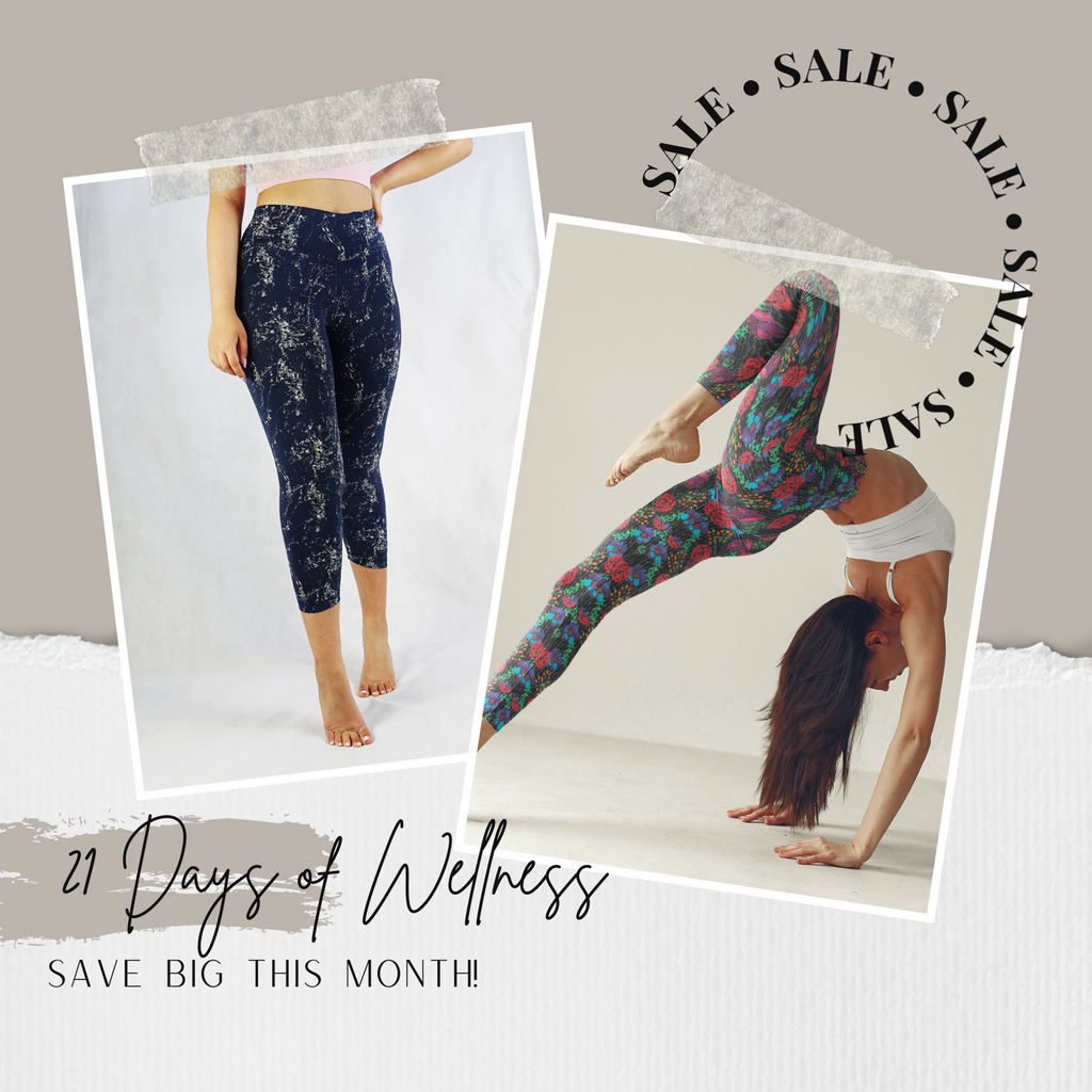 21 Days of Wellness - Organic Activewear // bamboo and organic cotton