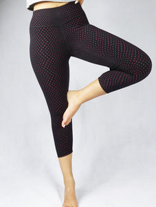 Perfect for the yogi! The Wear Organic compression leggings and activewear are designed for the ultimate performance. A vital part of any active wardrobe, our crop legging is made of our superior 4D Dritech 4-way stretch fabric that supports movement in any direction.
