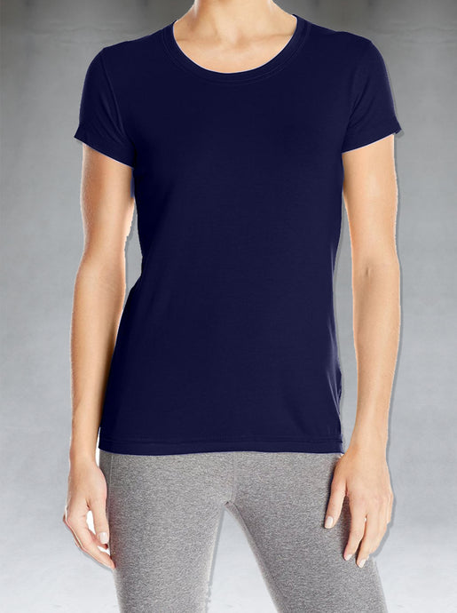 Feel the softness of natural bamboo fibres! Our round neck tees are cut for a bodycon fit to follow the contours of the body. Take a peek at our size guides for more information on sizing. Pure Bamboo cotton blend is both light and comfortable and feels luxuriously soft on the skin.