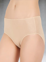 This unique no panty line promise panty does not have any elastic or rubber bands. It provides great comfort and ensures that there are no visible marks on the outer garment. The pure bamboo cotton blend means that the fabric is both light and comfortable and feels buttery soft and luxurious next to the skin.