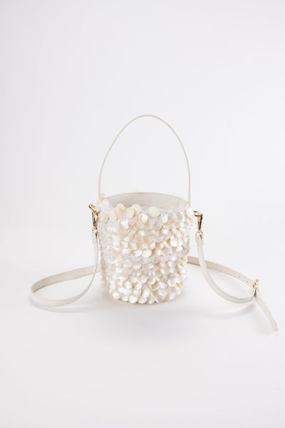 MOTHER OF PEARL Limited Edition Bucket Bag