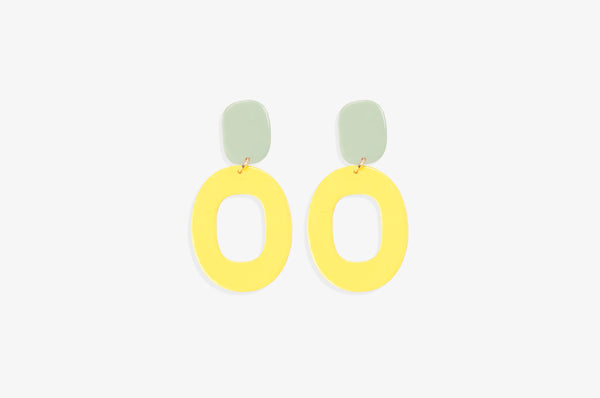 Kate Enamel Earrings