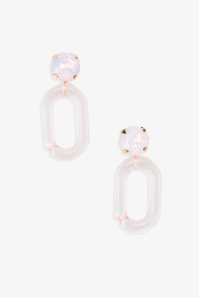 CLAIRE Lucite Post Earring