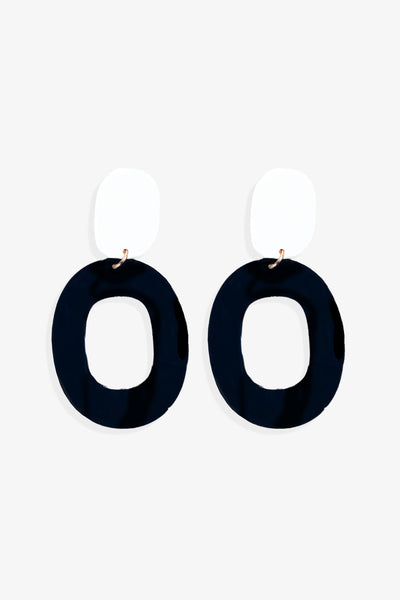 NIKKI Enamel Earrings