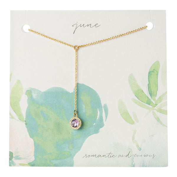 Yvonne Birthstone Gift Necklace