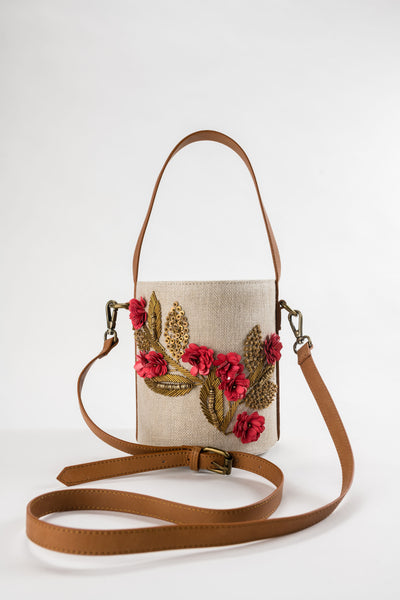 JAYNE Floral Bucket Bag
